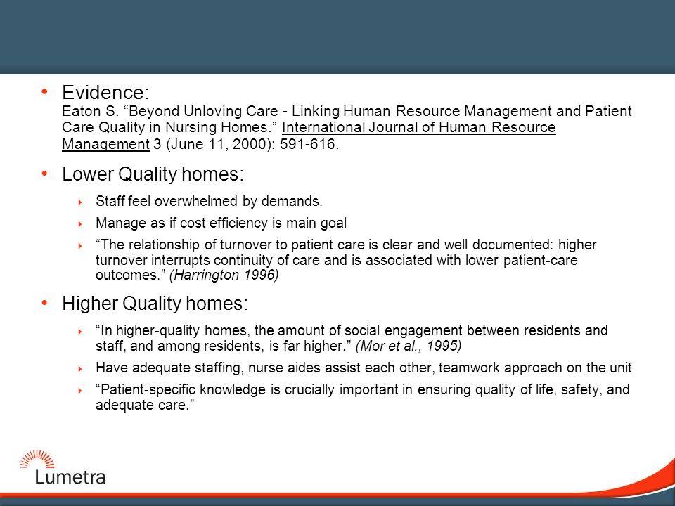 staff engagement nursing