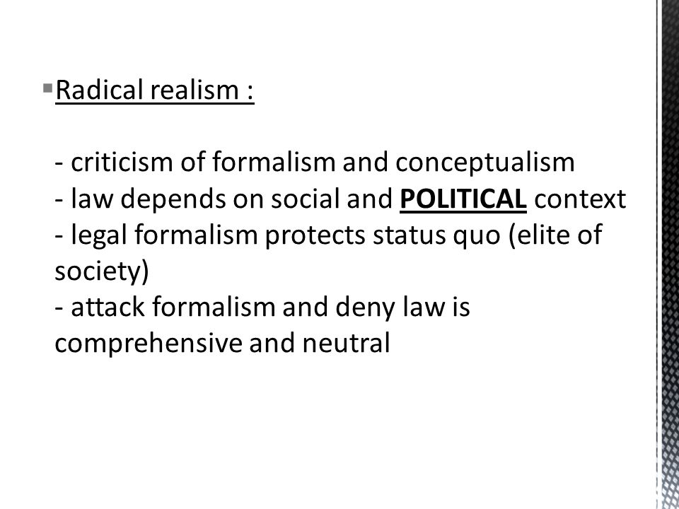 Masters thesis on realism criticism