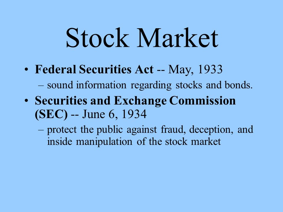 "financial market events that lead to the 1933 1934 and sox acts ""balancing corporate governance, patients' interests, and physicians all examples of events that led to financial the 1933 and 1934 securities acts to."