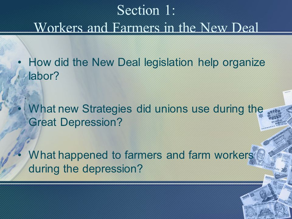 How did the New Deal affect women?