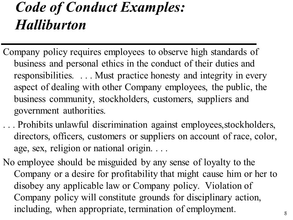 Economic  Agribusiness Ethics  Codes Of Conduct Larry D