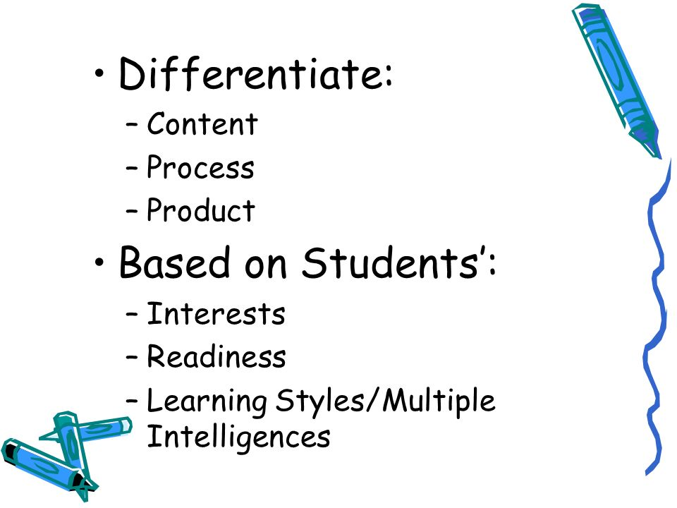 How Can Teachers Differentiate Instruction