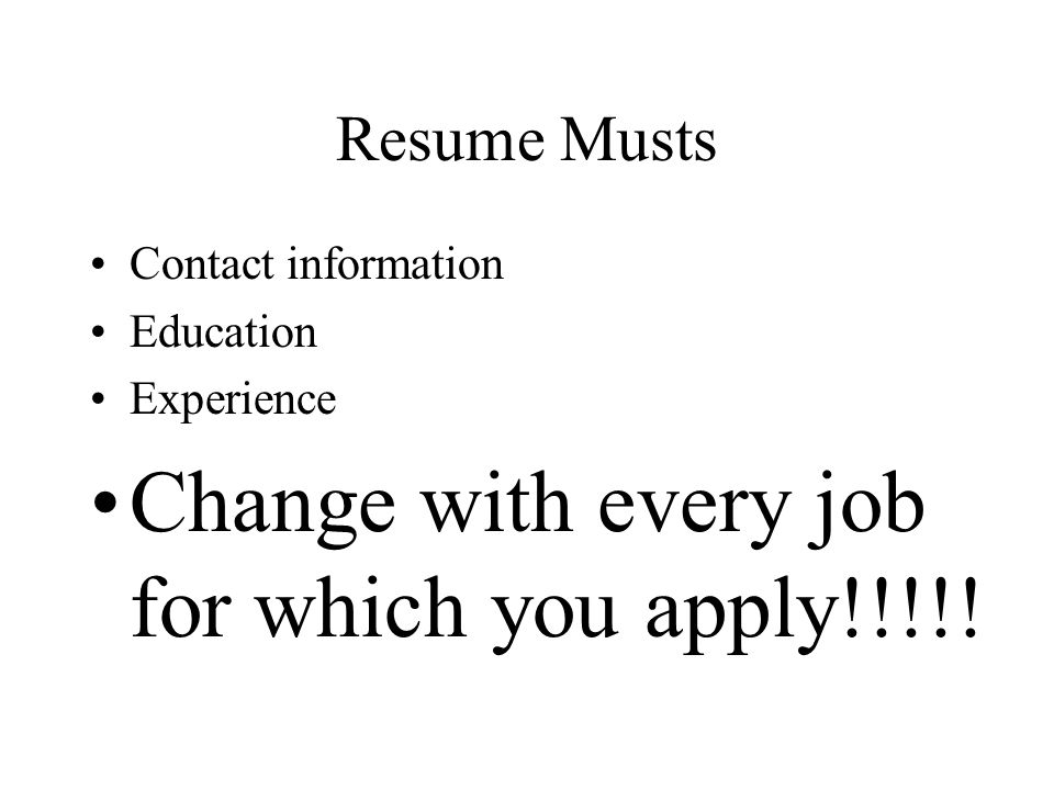 resume who needs a resume why do we need a resume how in the