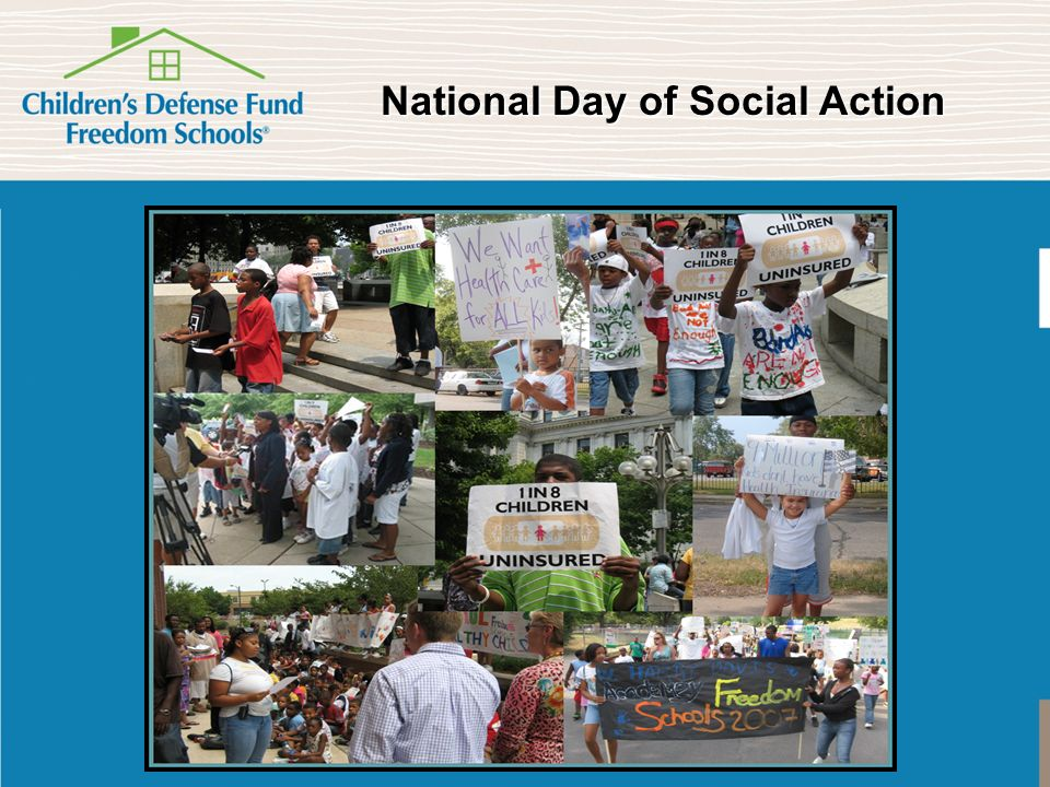 National Day of Social Action National Day of Social Action