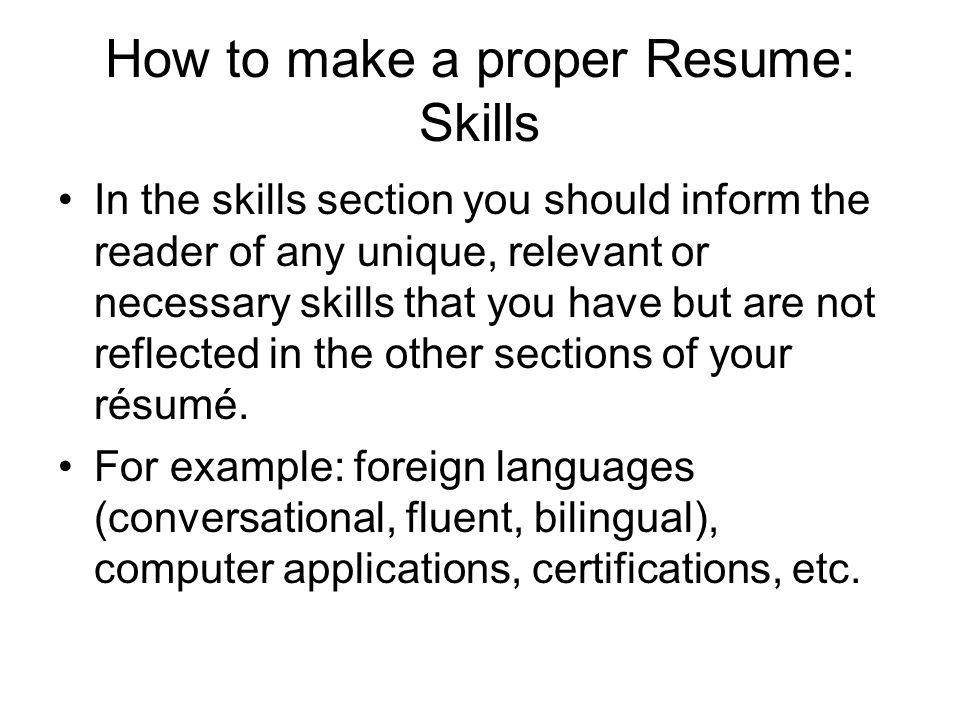 How to Create a Professional Resume  thebalancecareerscom