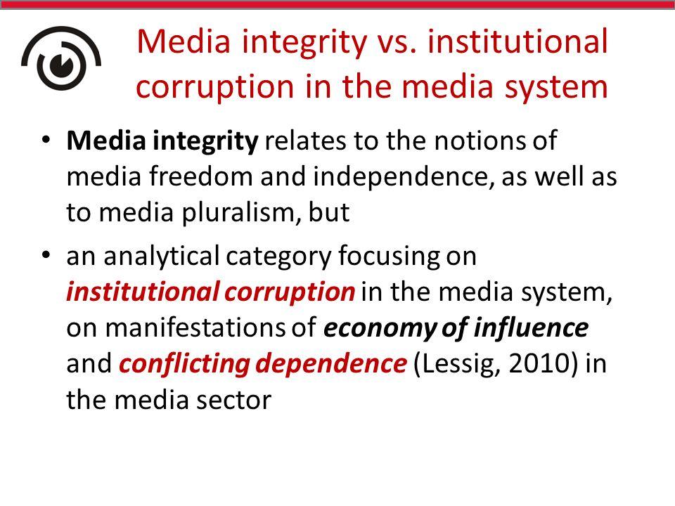 Media integrity vs.
