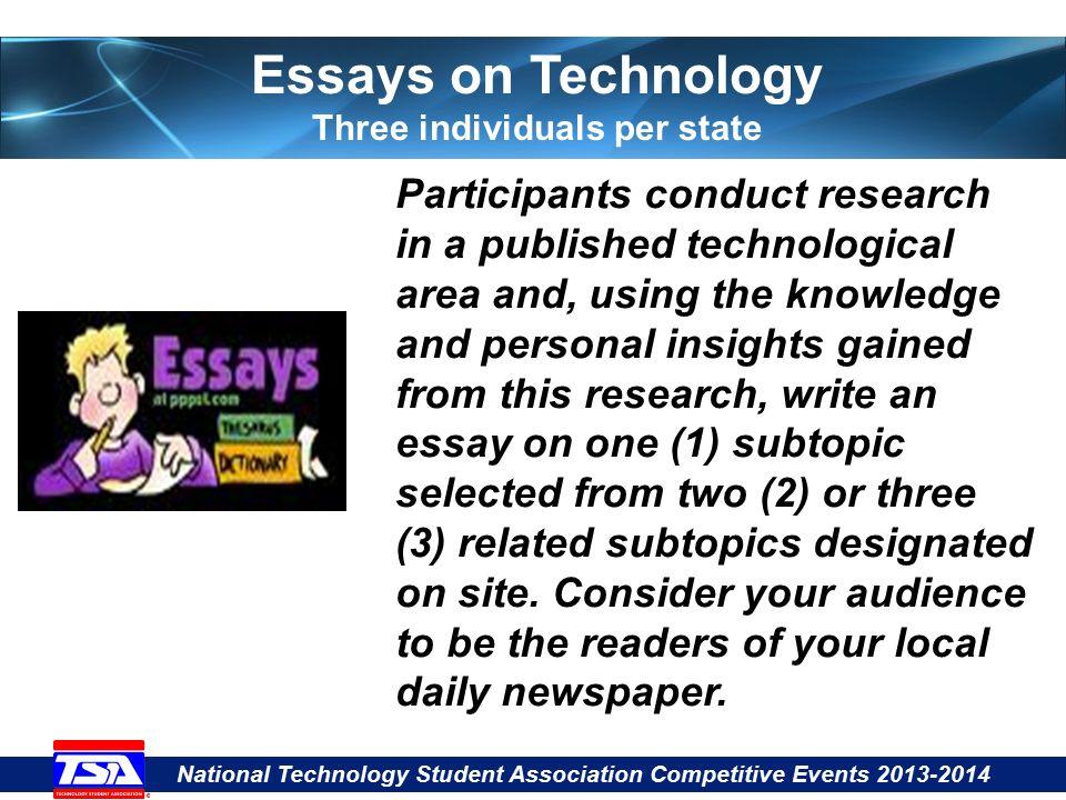 tsa essays on technology rules