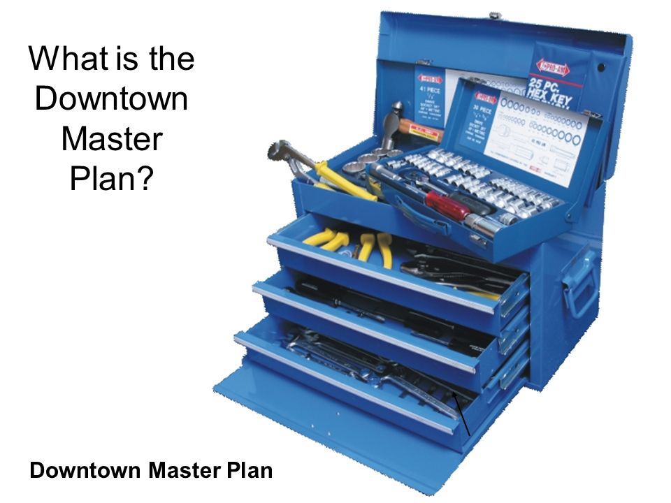 Downtown Master Plan What is the Downtown Master Plan