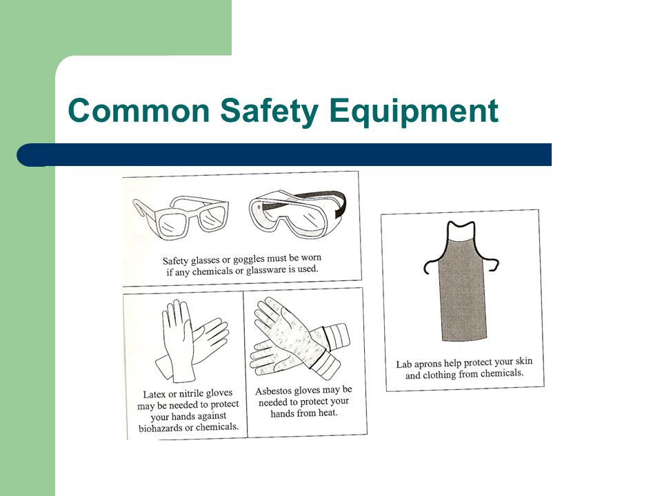 Common Safety Equipment