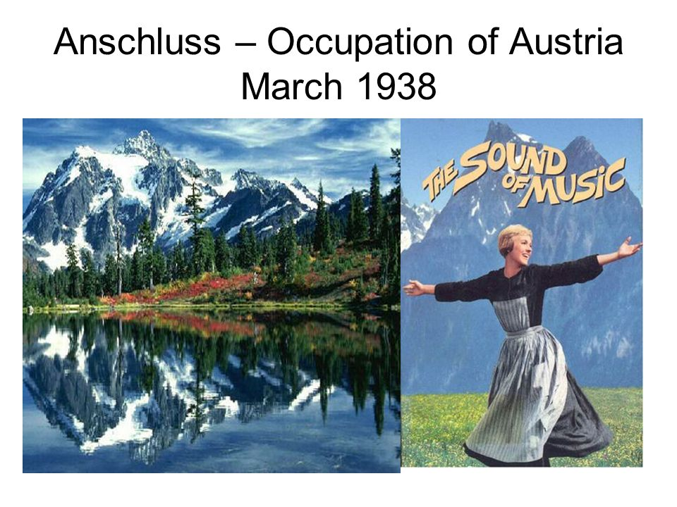 Anschluss – Occupation of Austria March 1938