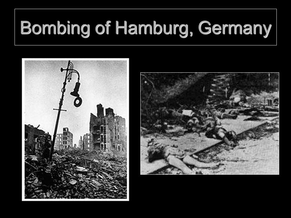 Bombing of Hamburg, Germany
