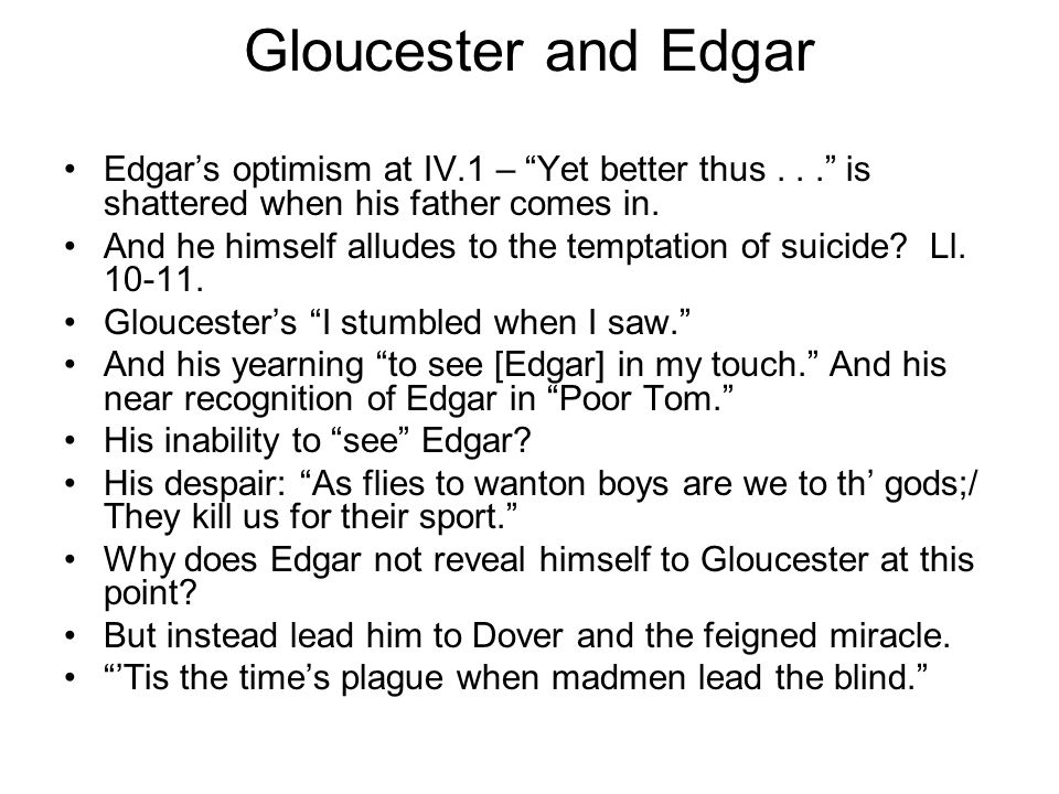 madness of lear edgar