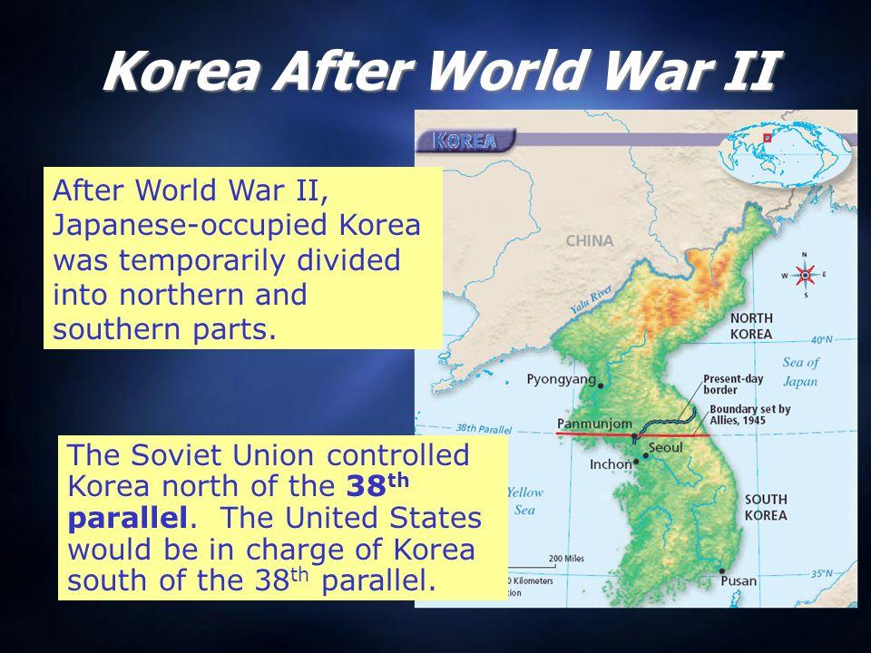 The korean war cold war tensions finally erupted in a shooting war 2 korea after world war gumiabroncs Images