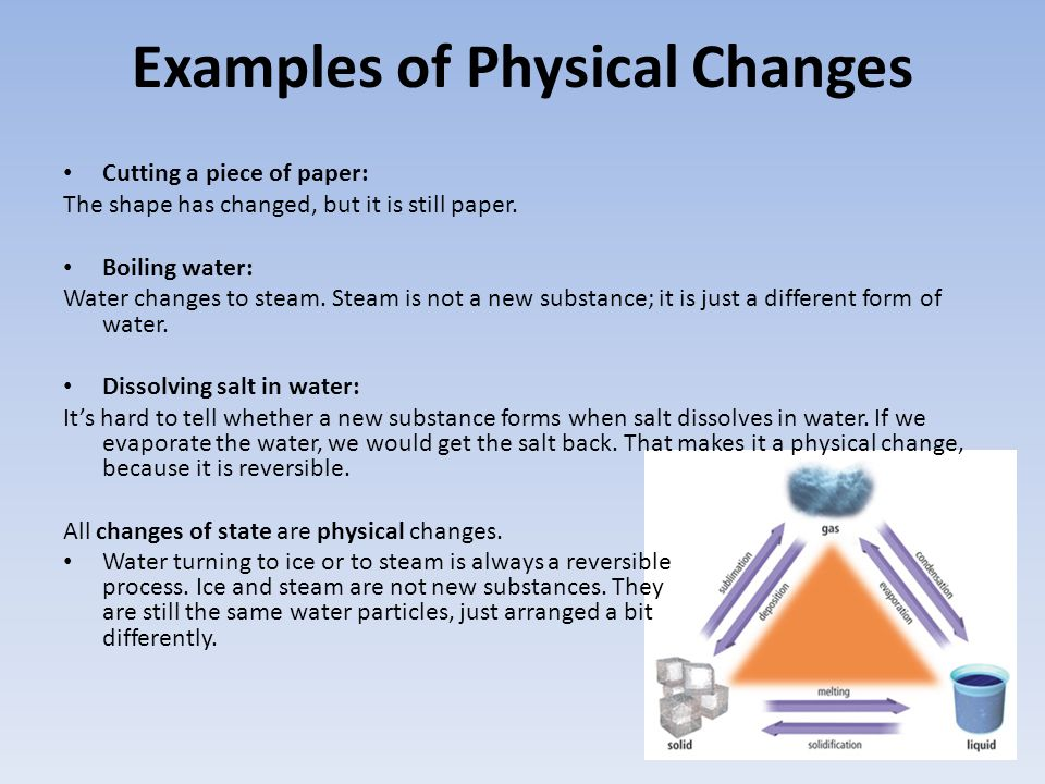 Is Boiling Water A Physical Change Water Ionizer