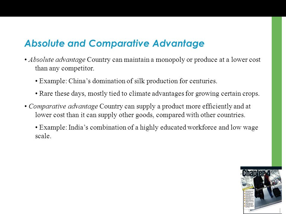 absolute and comparative advantage 2