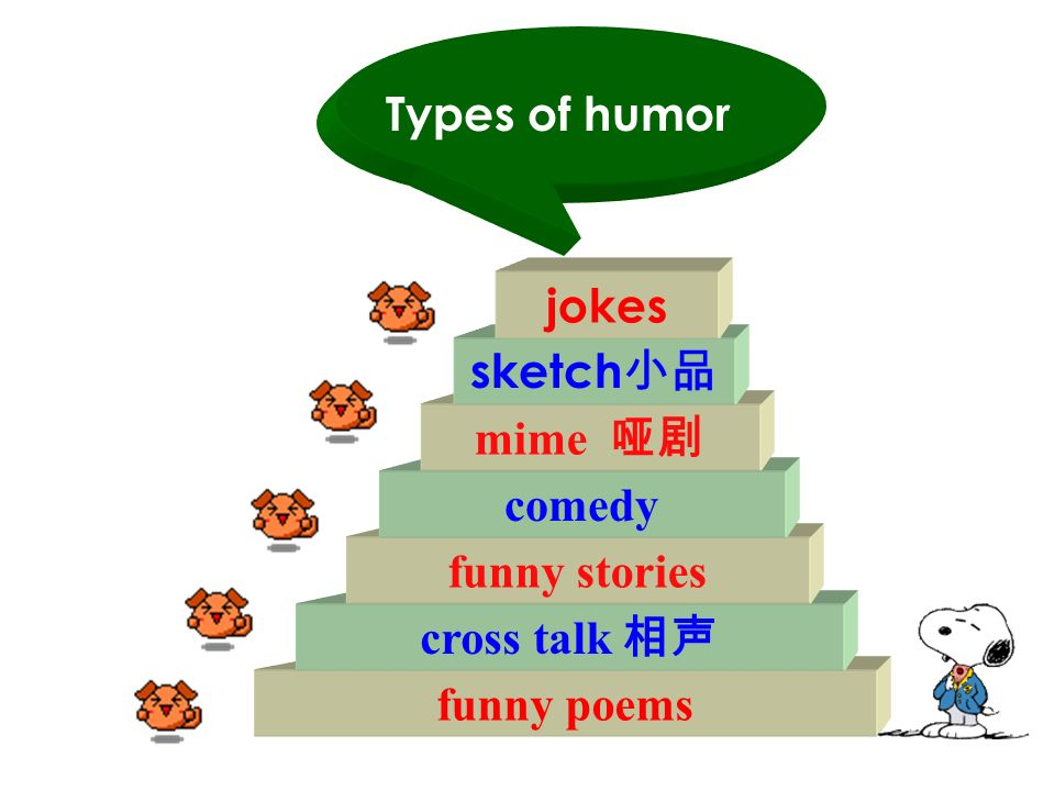 How many kinds of humour do you know