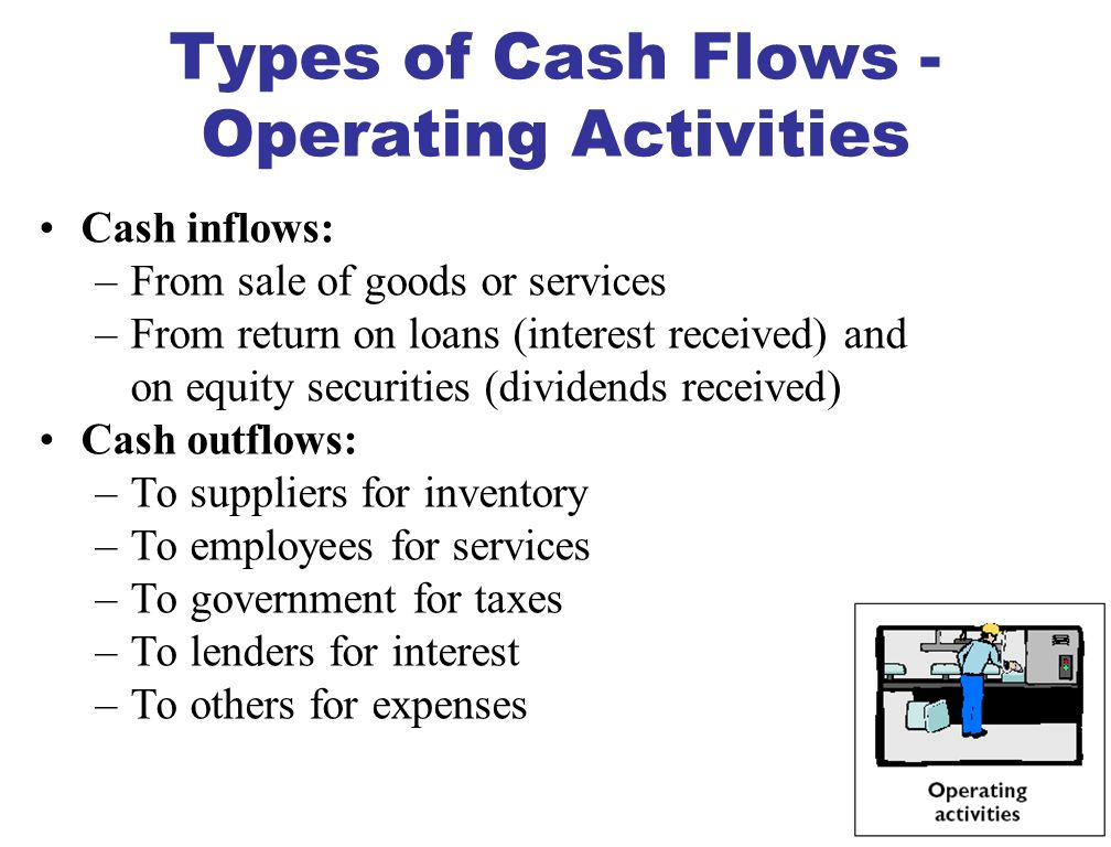 MEANING OF CASH FLOWS STUDY OBJECTIVE 2 Prepared using cash and cash equivalents as its basis.
