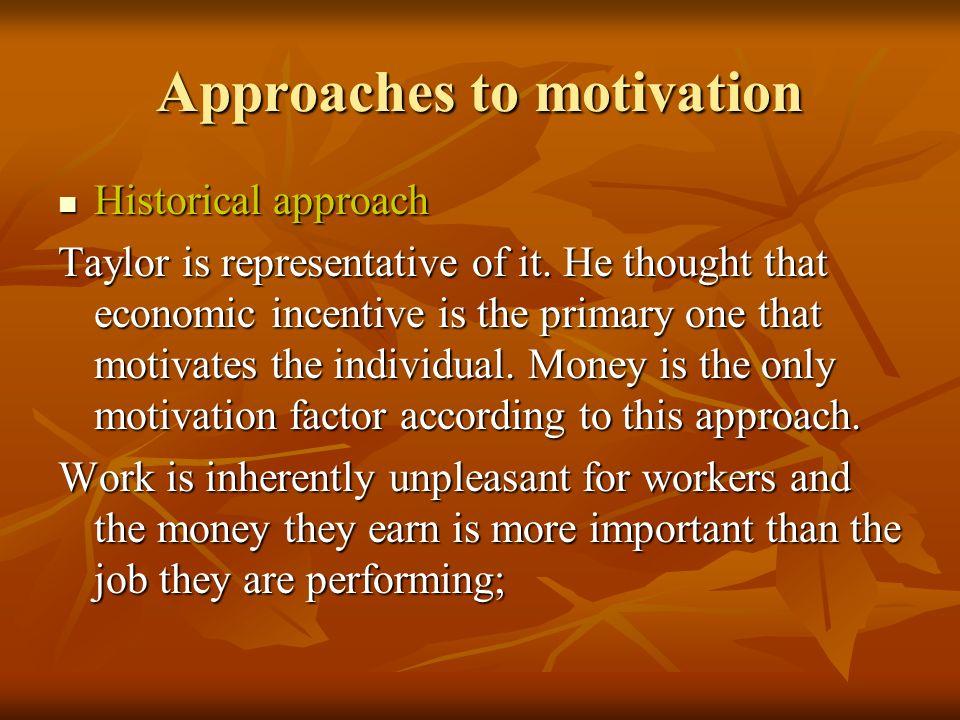 Motivational factors Factors that motivate workers are: Factors that motivate workers are: - achievement; - Recognition; - The work itself; - Responsibility; - Advancement and growth.