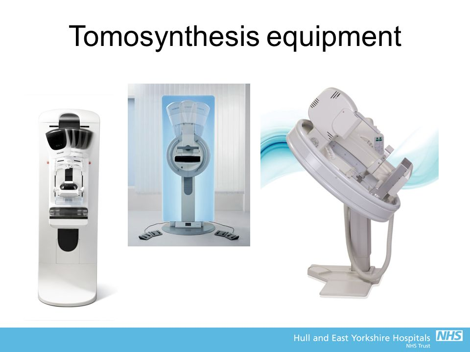 Tomosynthesis equipment