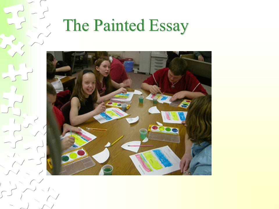painted essay Painted essay template document included in 1 lesson loading download lesson 21: write a response students write and revise their written responses in order to.