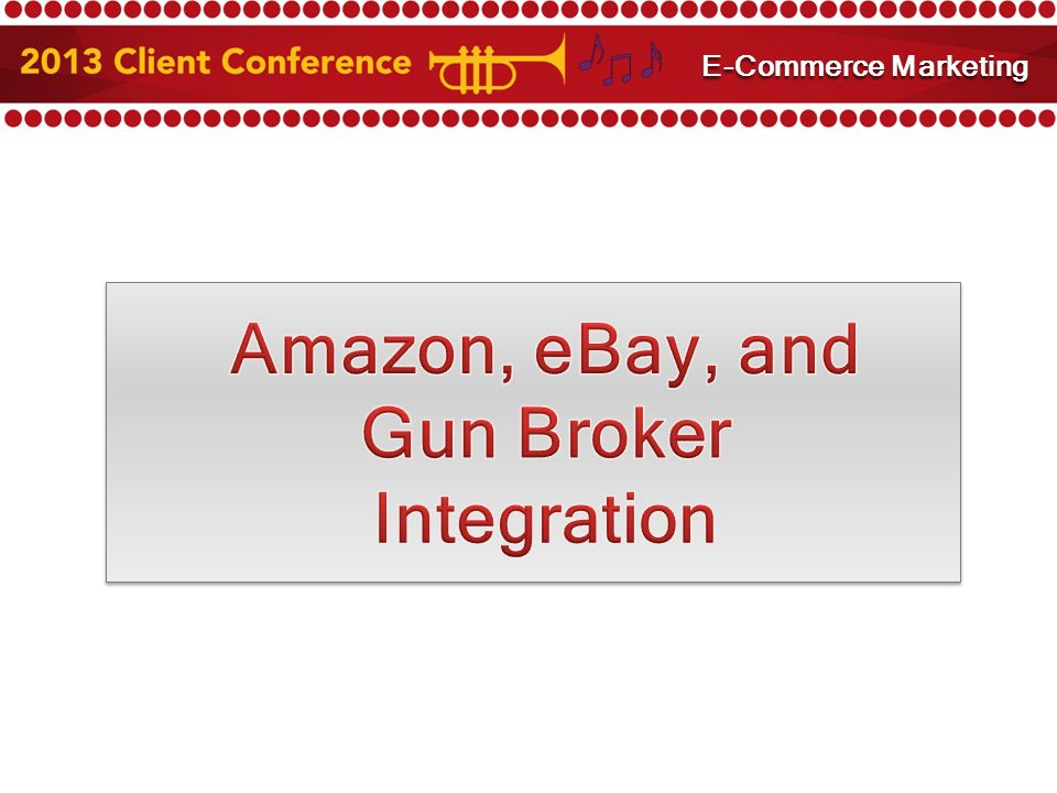 Amazon and eBay Integration E-Commerce Marketing