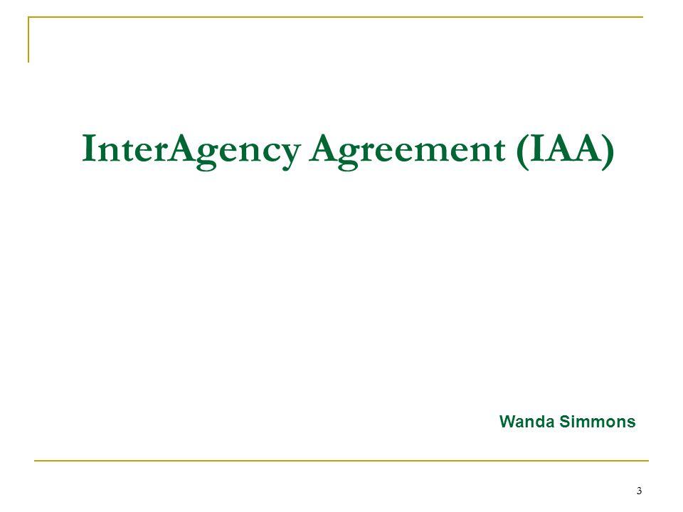 Interagency agreement iaa internet payment platform ipp intra 3 3 3 interagency agreement iaa wanda simmons platinumwayz