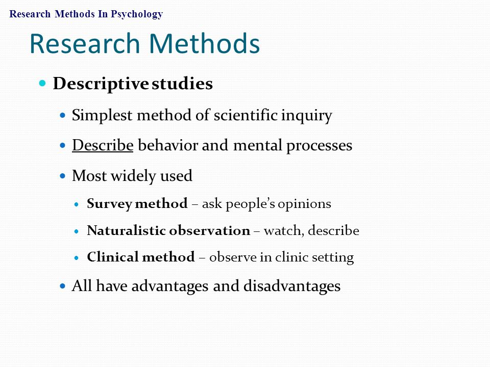 how is research used in psychology