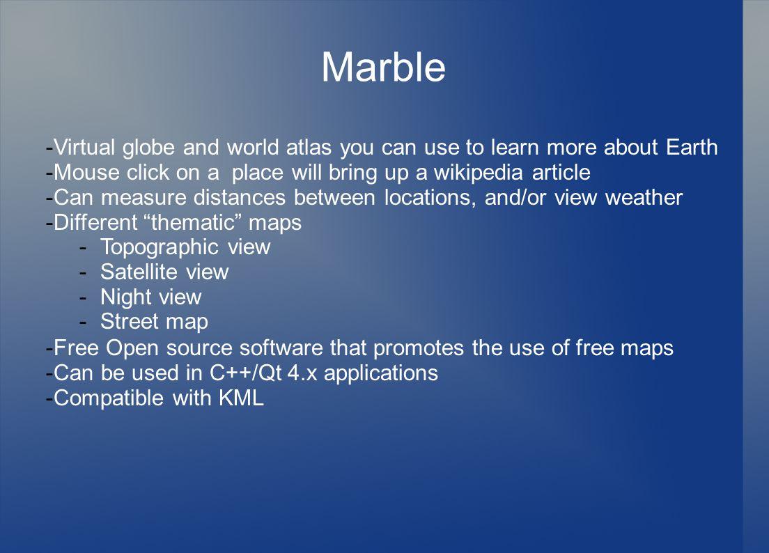 Keyhole markup language kml eric bohn keith krupp ppt download 18 marble sciox Choice Image