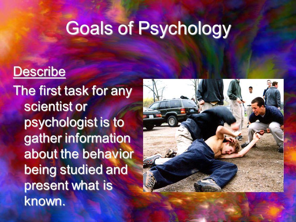 Any psychologists?