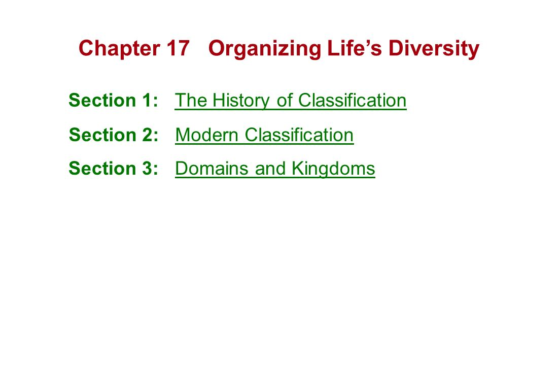 Printables Section 18-2 Modern Evolutionary Classification Worksheet Answers section 18 2 modern evolutionary classification worksheet answers chapter 17 anizing life 39 s diversity 1 the history of