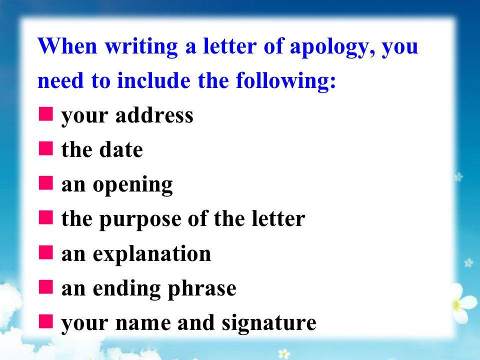 Unit 3 Task Writing a letter to explain cultural misunderstandings