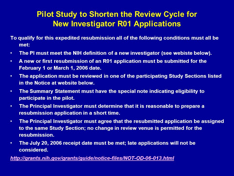 nih cover letter study section Grant writing tips & submitting an nrsa to nih choose a study section see cover letter project.