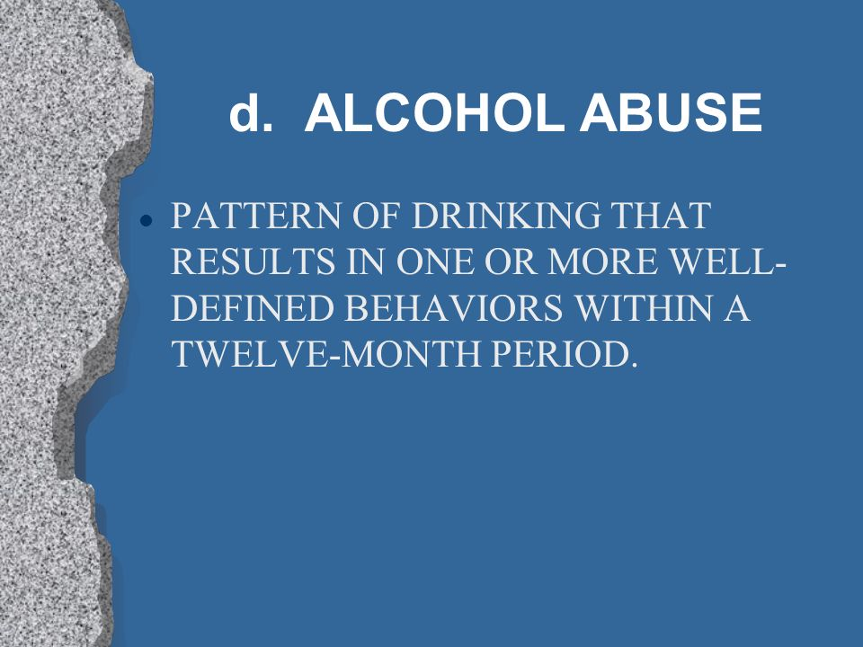 c. ENABLERS l PROTECTS ADDICTS FROM THE RAMIFICATIONS OF DRINKING.