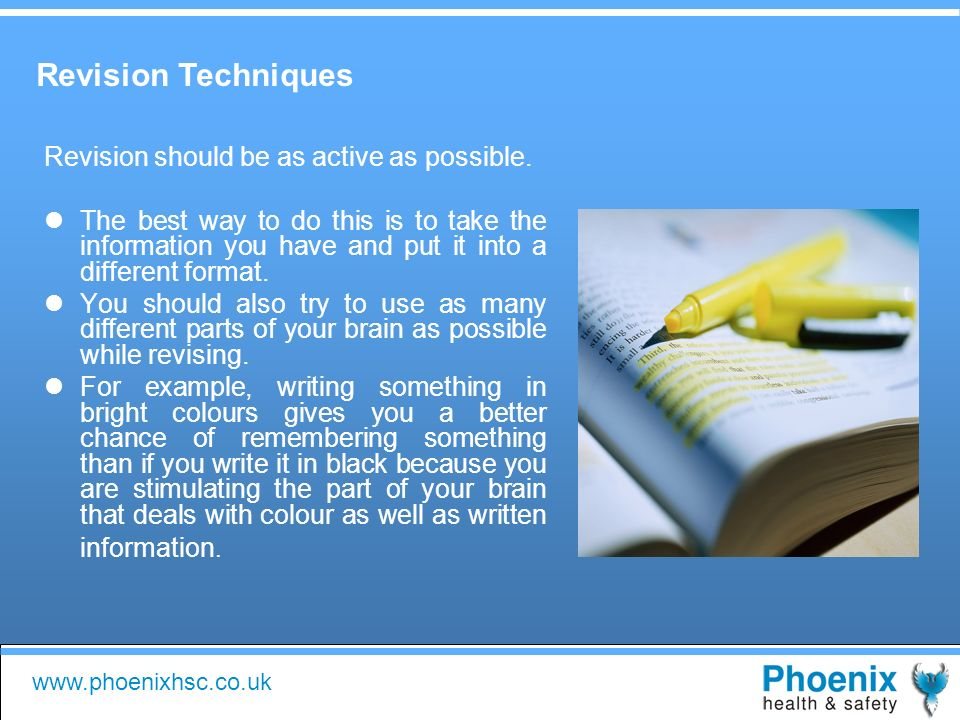 Get the most out of your course and revision with Phoenix Health ...