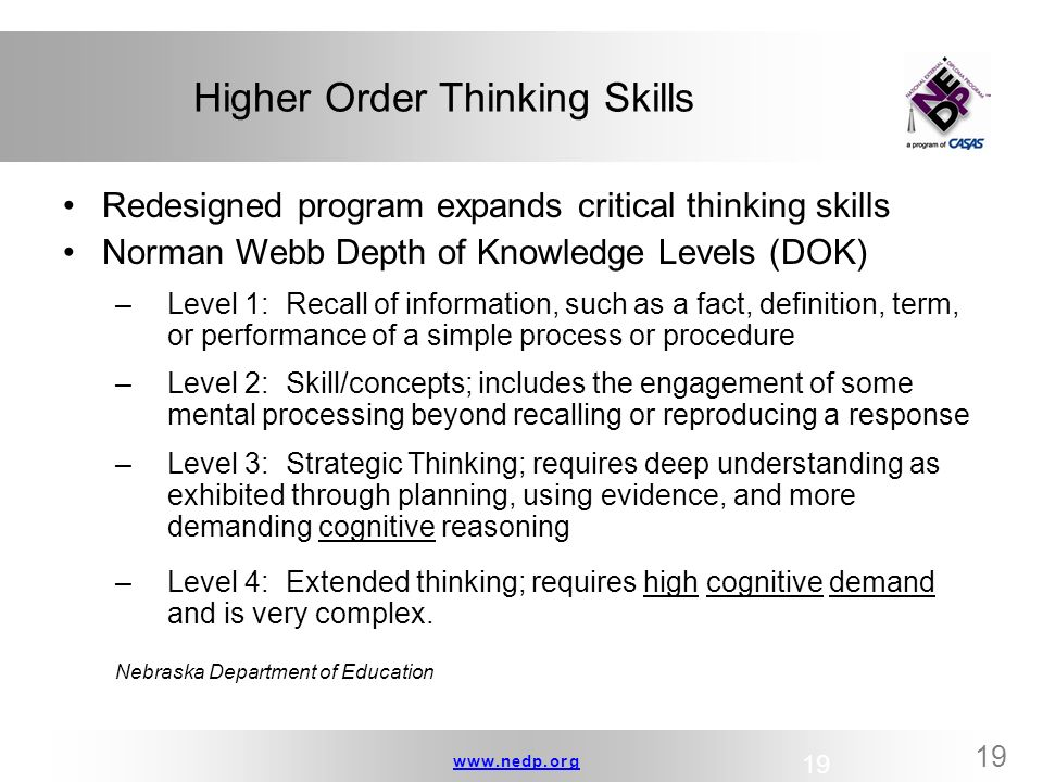 critical thinking activity high school Critical thinking is a skill that students develop gradually as they progress in school this skill becomes more important in higher grades, but some students find.