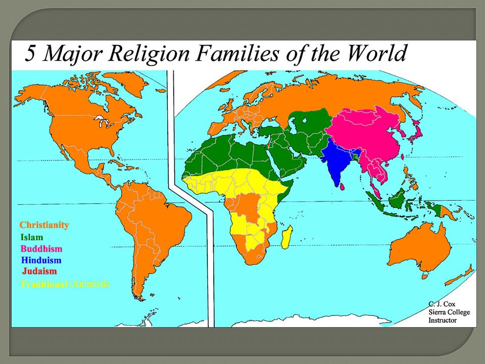 AP Human Geography Copeland.  What is Religion?  Major