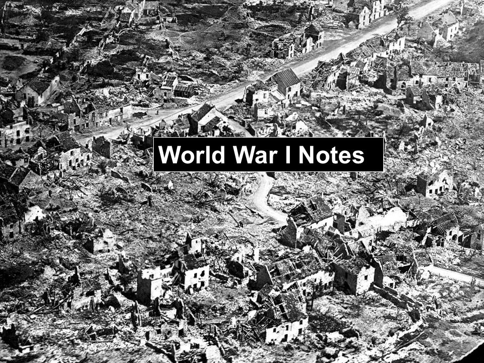 causes of world war i germany essay