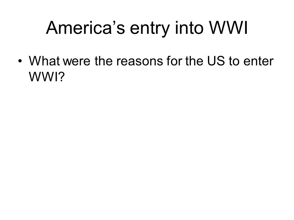 the reasons why the united states entered world war ii