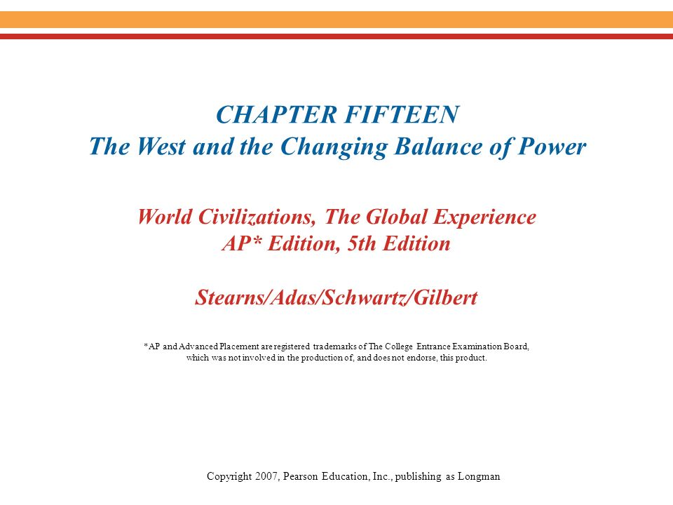 chapter 16 the world economy Traditions and encounters, ap edition (bentley), 5th edition chapter 16: the two worlds of christendom chapter economy and society in early medieval europe.