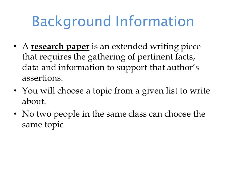 Example Outline For Essay Writing
