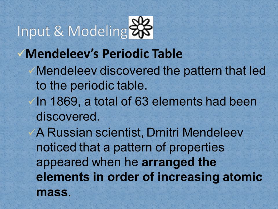 How are the elements organized in the modern periodic table ppt 5 atomic urtaz Gallery