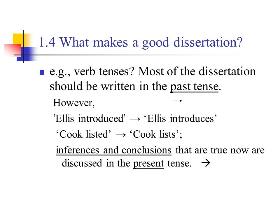 descriptive essay in present tense