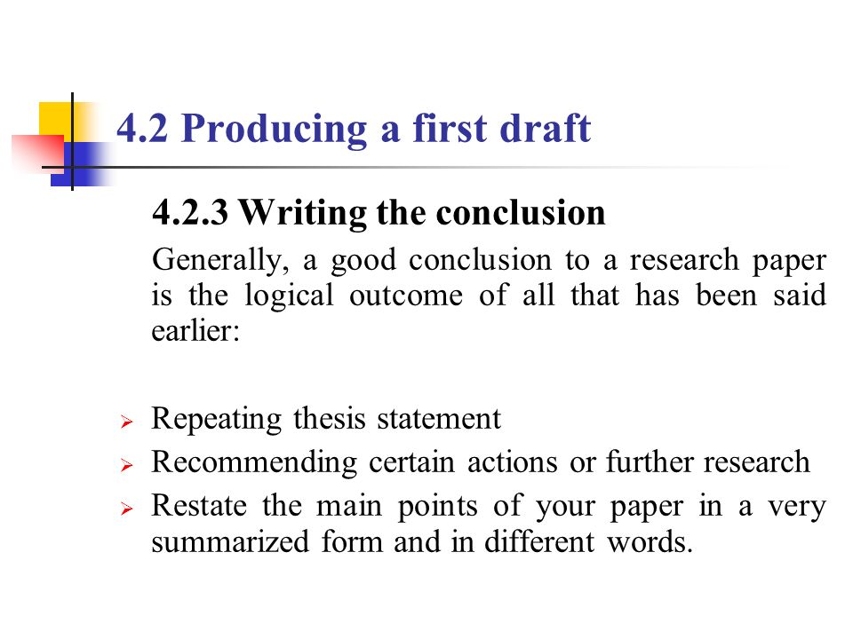 research paper conclusions