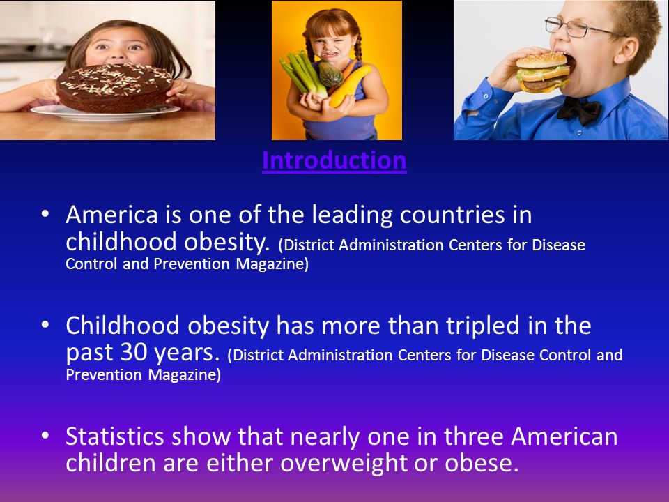 thesis on child obesity