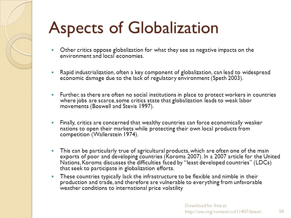 Dissertation On Globalisation And Labour Market