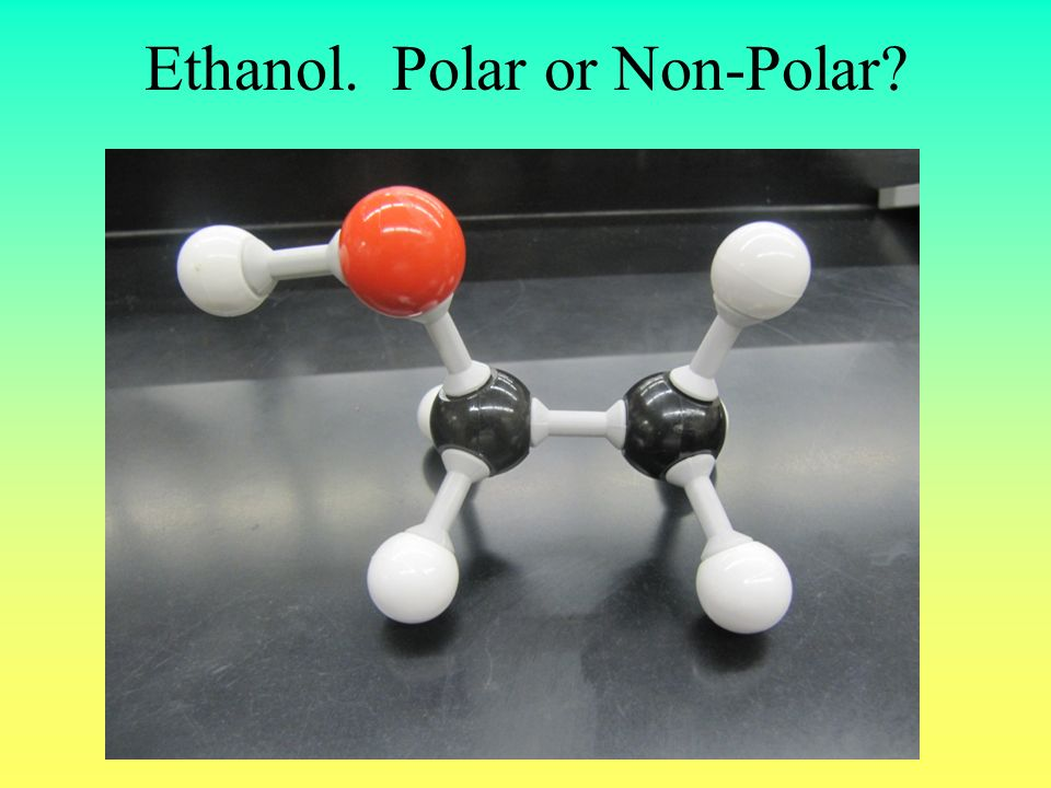 Compare the three structures Which of these molecules has the greatest polarity.