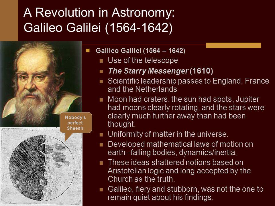 Galileo Essay