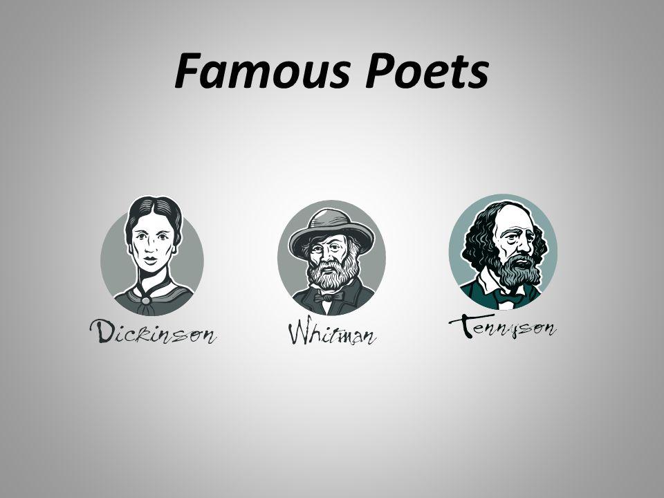 Comparing famous poets?
