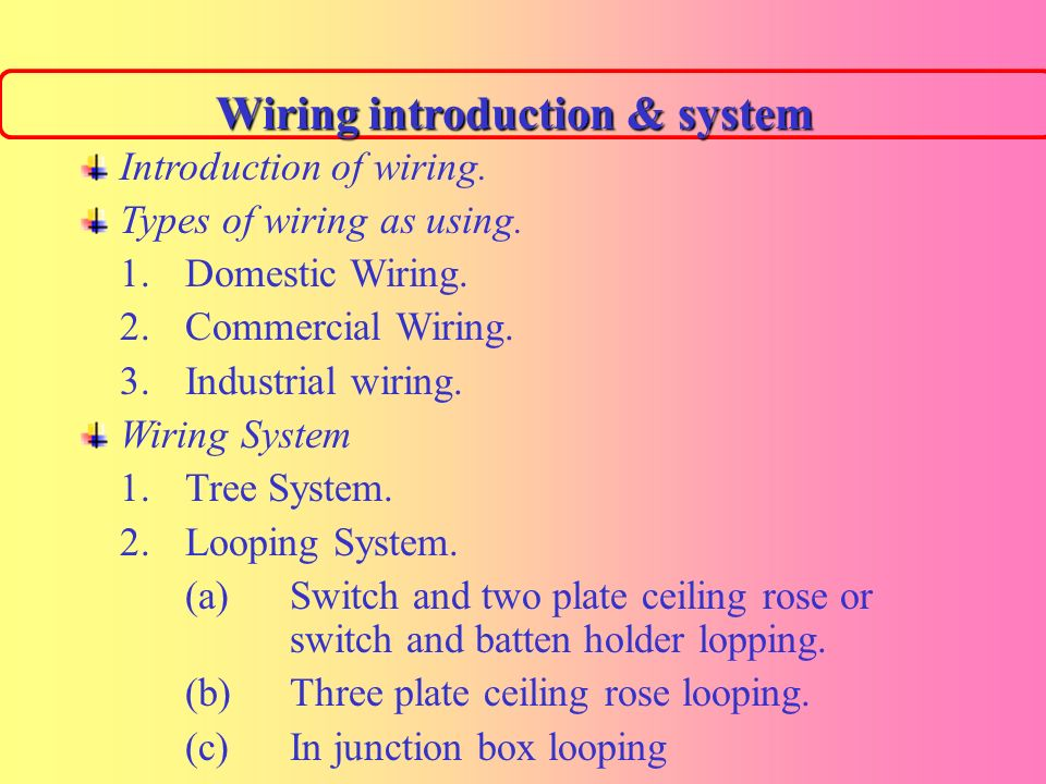 Great Home Wiring Types Images - Electrical Circuit Diagram Ideas ...