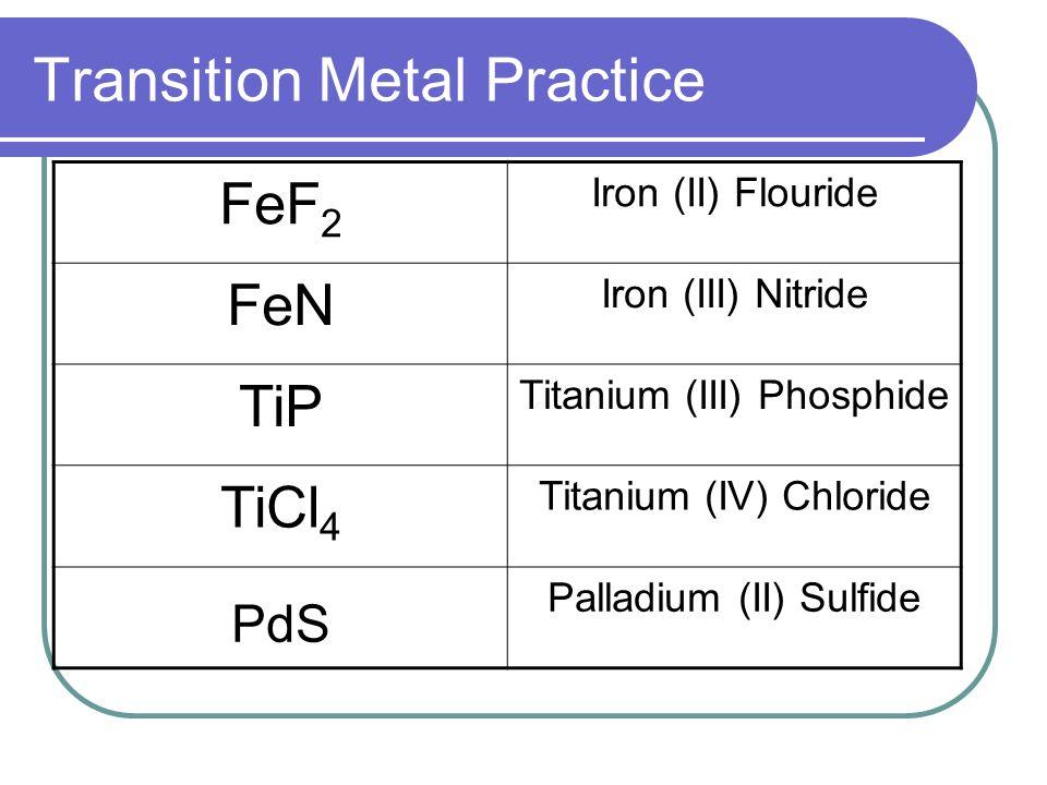Nomenclature Ionic Compounds Topics Ionic Nomenclature Standard